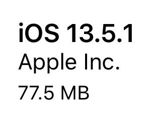 iOS13.5.1(17F80)リリース。1件のセキュリティ問題に緊急対応。更新すべき?待つべき?更新後の不具合の有無についてご紹介