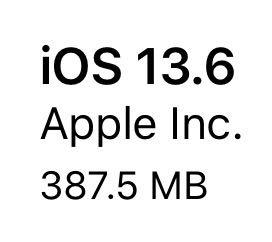iOS 13.6(17G68)リリース。7件の機能追加、10件のバグ修正と改善、29件のセキュリティ問題に対応。アップデートすべきか否か、更新内容、時間、更新後の不具合の有無についてご紹介