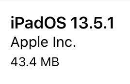 iPadOS13.5.1(17F80)リリース。1件のセキュリティ問題に対応した緊急セキュリティリリース。更新すべき?待つべき?更新後の不具合の有無についてご紹介