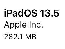 iPadOS13.5(17F75)リリース。Face IDとパスコード、FaceTimeで機能追加と2件のバグ修正と改善。更新すべき?待つべき?更新後の不具合の有無についてご紹介