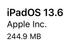 iPadOS 13.6(17G68)リリース。6件のバグの修正および改善と29件のセキュリティ問題への対応を含むメジャーリリース。更新すべきか否か?更新内容、時間、更新後の不具合の有無についてご紹介