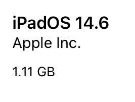 iPadOS 14.6(18F72)リリース。3件の新機能・機能改善、2件の問題の修正、43件のセキュリティ問題(CVE)に対応したメジャーアップデート。更新すべきか否か、サイズ、更新内容、時間、更新後不具合の有無についてご紹介