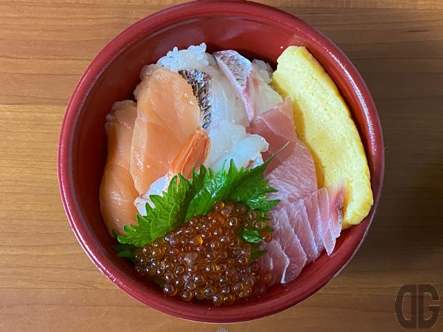 特上5種の海鮮丼