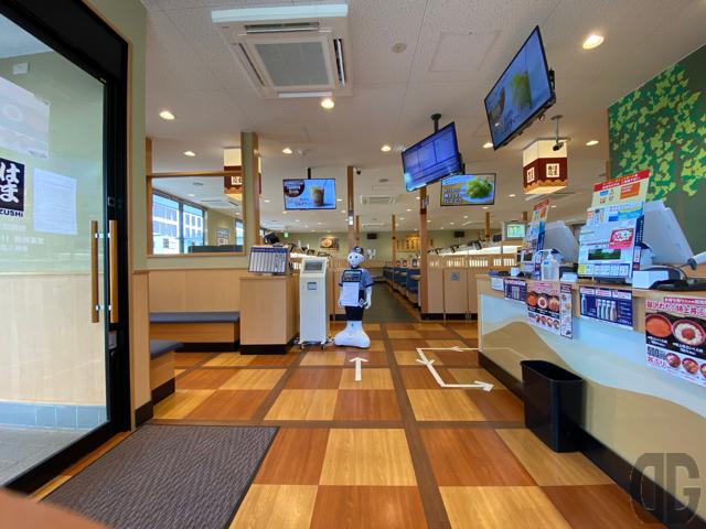 はま寿司相模原光が丘店店内入口付近